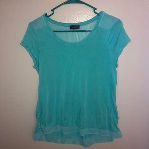 Womens Blue The Limited Short Sleeve
